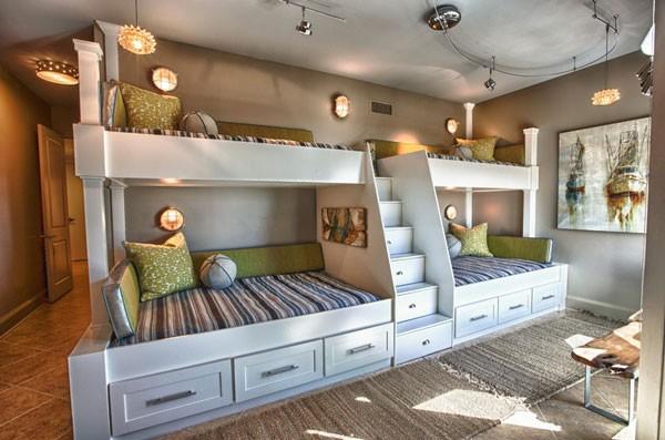 cách bố trí giường ngủ